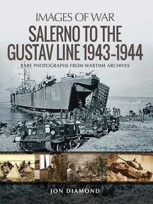 cover image of Salerno to the Gustav Line 1943–1944